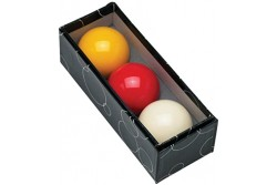 carom ball set 61,5mm CRYSTALITE (4pcs)