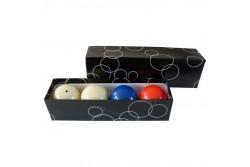 "carom ball set 61,5mm ""Standard "" (3pcs)"