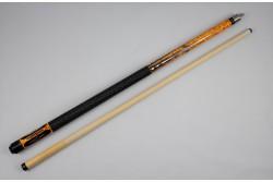 """Billard Queue """"Speedmaster """", orange, Pool - 148 cm"""