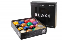 "Ball Set ""Aramith Tournament TV Pro Cup Black "" 57,2 mm Pool"