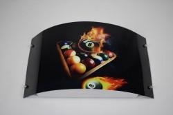 Billard  Wandleuchte LED  Dekorleuchte