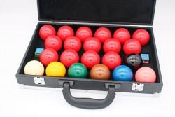 Ballkoffer für Snooker Billard Kugeln 52,4 mm