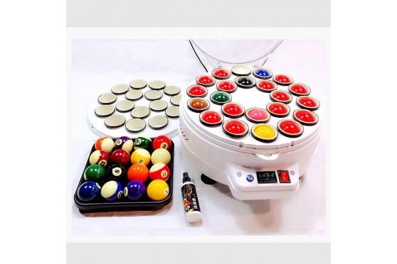 2in1 Billard Kugelpoliermaschine Kugel- Ball-Reiniger, Pool & Snooker