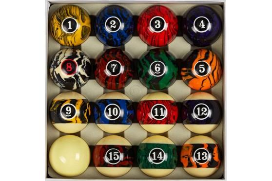 Ball Set SAMURAI Fantancy Style -  57,2mm Pool