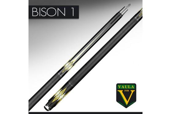 "Billard Queue, Pool, VAULA ""BISON"", black-yellow, 2-tlg"
