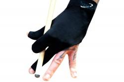 Halbfingerhandschuh, Dynamic Premium, 3-Finger, schwarz, S&M