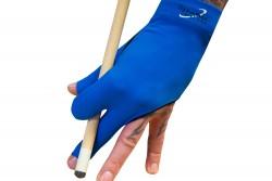 Half-finger glove, Dynamic Premium, 3-finger, black-blue, S&M
