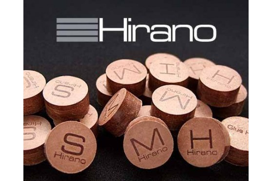 """Наклейка """"Hirano"""", 13мм, полужесткая"""