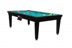 "Billiard -Dining Table ""Elsass"" 7 black, Pyramid"
