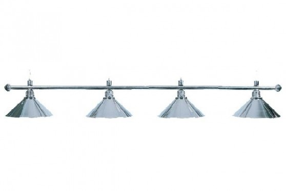 "Lampe ""Elegance"", 4-flammig, silber, Ø 35cm"