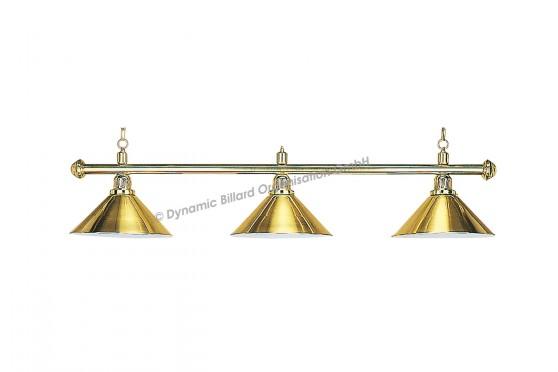 """Lampe """"Elegance"""", 3-flammig, messing, Ø 35cm"""