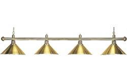 """Лампа """"Elegance"""" 4 плафона, золотистая"""
