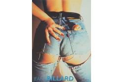 """Poster """"Jeans Billard"""""""