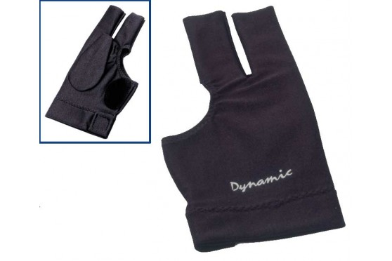 Перчатка бильярдная Dynamic Deluxe 2,  чёр