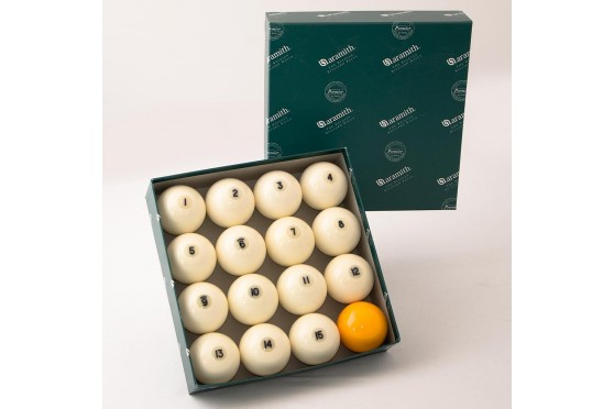 Aramith Ball Set Premier, 60mm, Pyramid