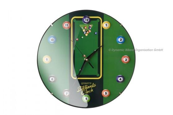 11-Ball-Billiard-Clock, Ø30cm