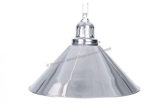 Лампа на один плафон D35 (серебриста