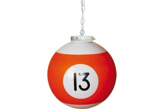 "Billiard drop light ""13"""