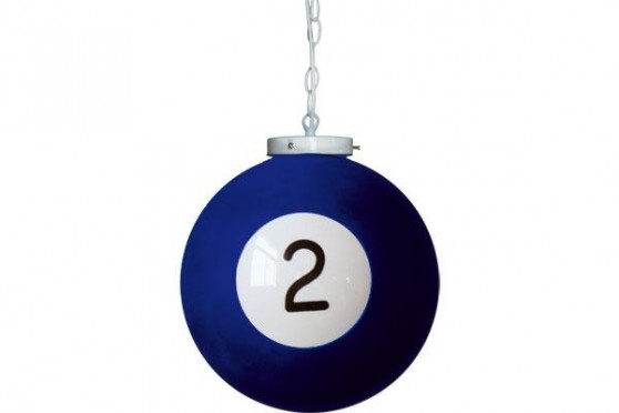 "Billiard drop light ""2"""