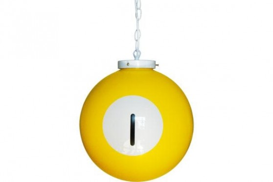"Billiard drop light ""1"""