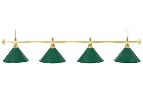 "Lamp ""Evergreen"", 4-bells, green, Ø 35cm"