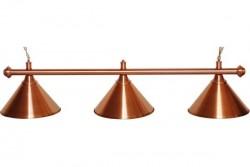 "Lampe ""Elegance"", 3-flammig, bronze, Ø 35cm"