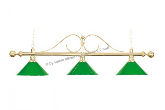 """Светильник """"Classic"""", 3 плафона, зеленый"""