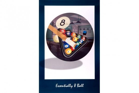 "Poster ""Essentially 8 Ball"""