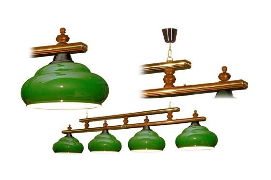 "Lamp ""Alexandria"", green"